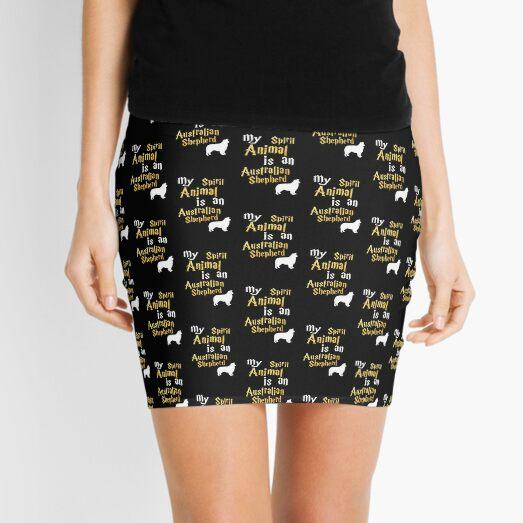 Australian Shepherd Dog Mini Skirt