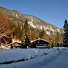 germany, winter cottage by Daidalos