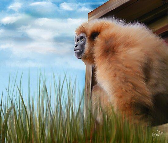 Mogwai The Gibbon by wesland