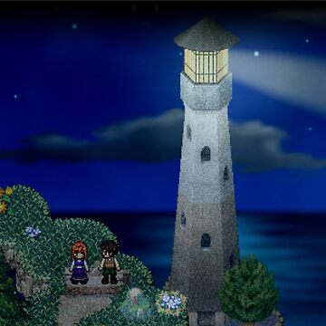 To the moon lighthouse by gungable