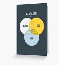 Pancake! Greeting Card