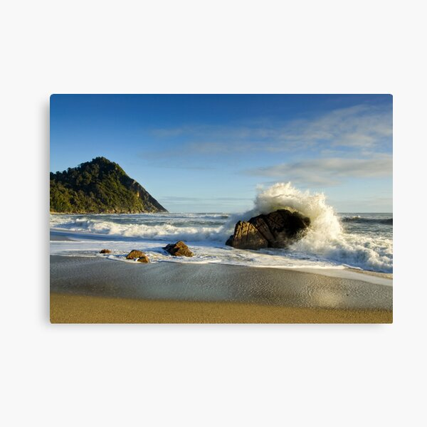Scotts Beach. Canvas Print