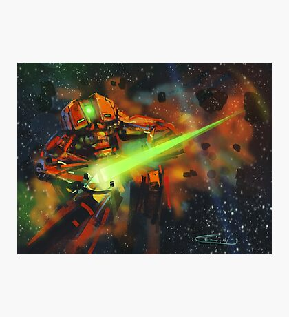 Space Shooter Photographic Print