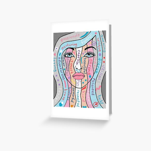Women Empowerment Greeting Card