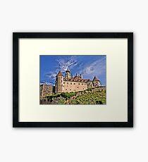 The Castle in the Sky. Framed Print