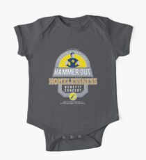 Hammer-Out Homelessness One Piece - Short Sleeve