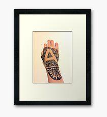 Tattoo? Framed Print