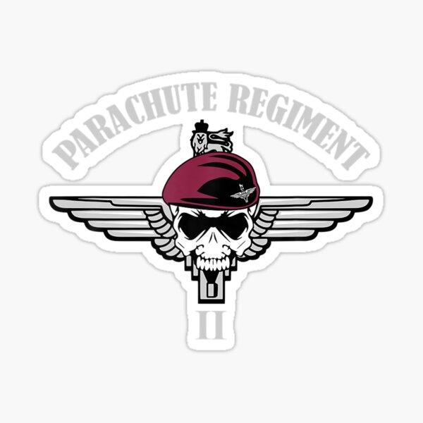 15th Btn Parachute Regiment HM Armed Forces Veterans Clear Cling Sticker