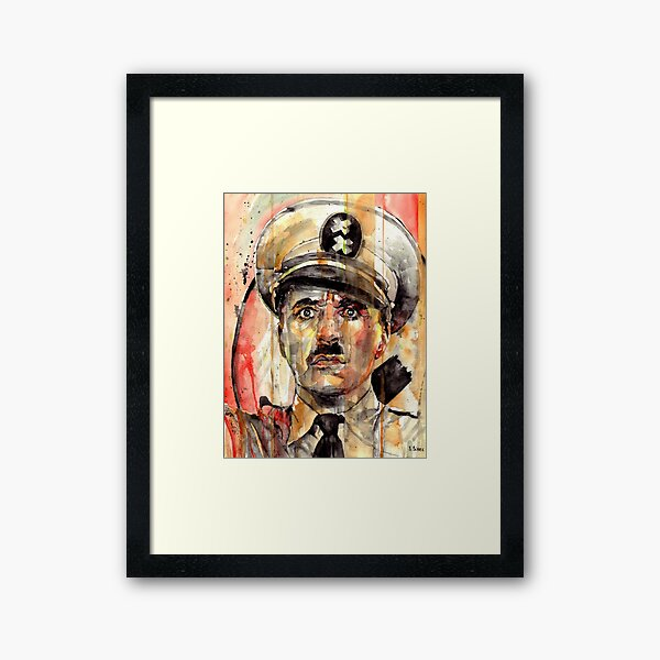 The Great Dictator Framed Art Print