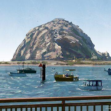 Morro Rock by dsilva