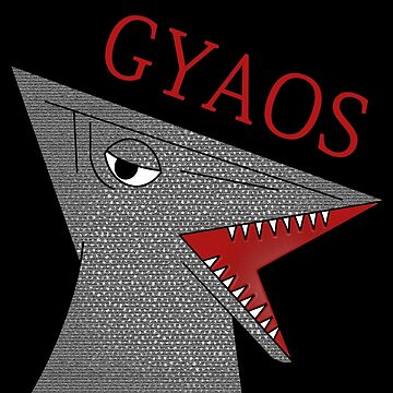 Gyaos - Black by scribbledeath