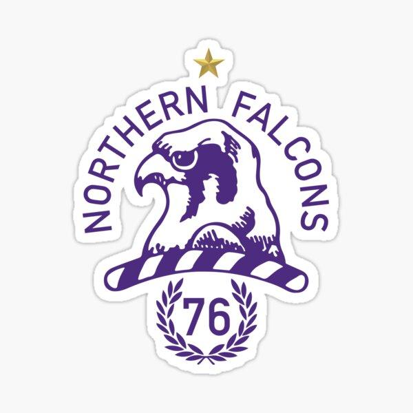 Northern Falcons Table Football Club Logo Sticker