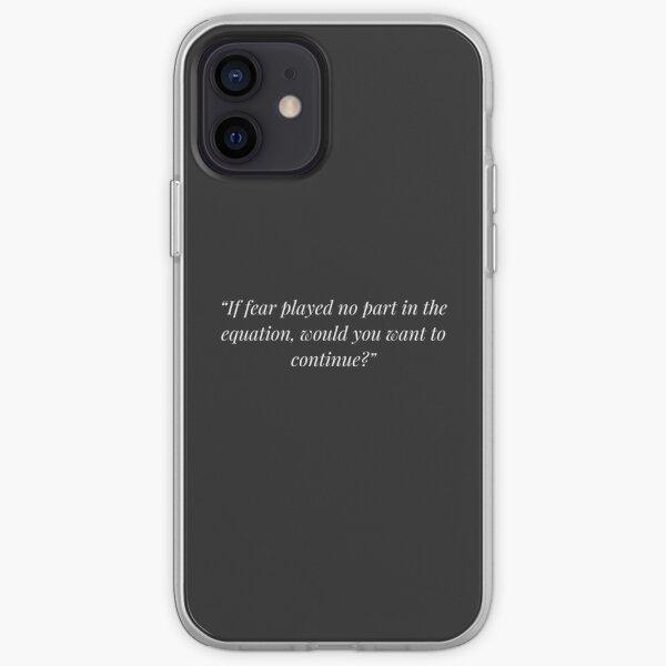 Motivation Quote - 1 iPhone Soft Case