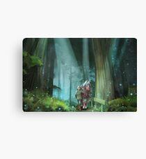 The Zelda Legend Canvas Print