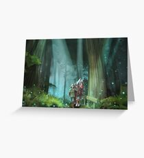 The Zelda Legend Greeting Card