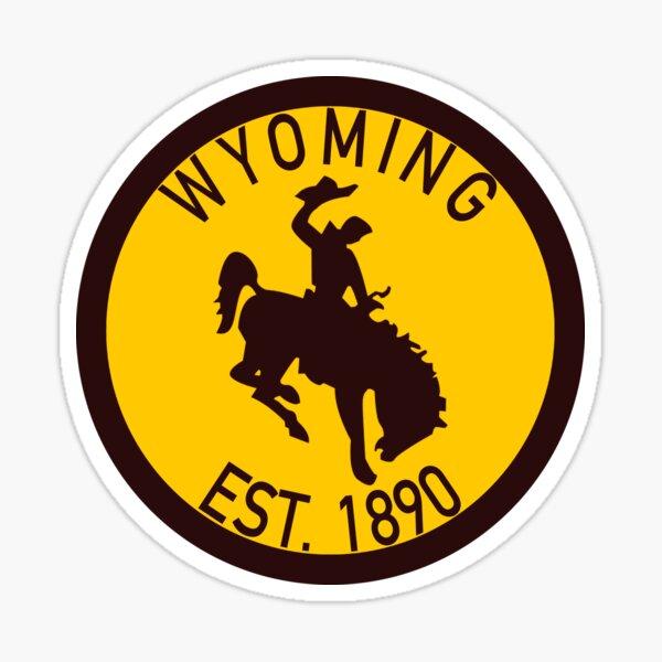 Wyoming Establish 1890 Sticker