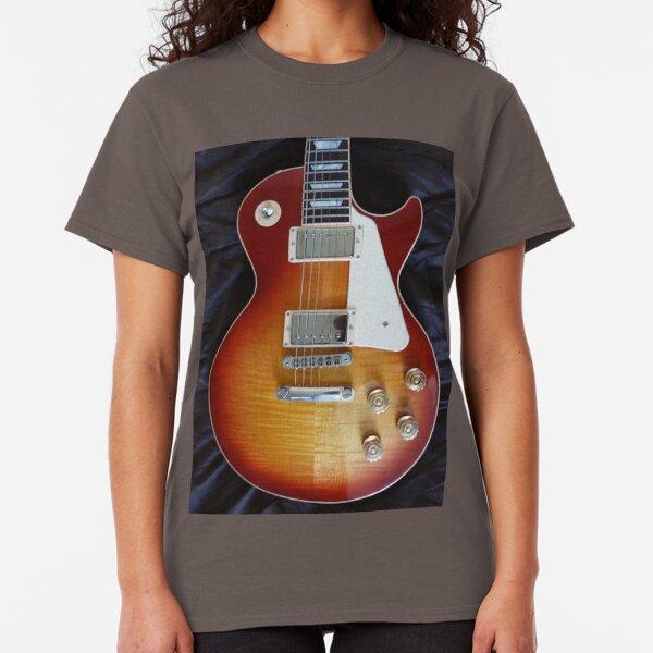 Gibson Guitars Concert Rock sur Blanc T Shirt