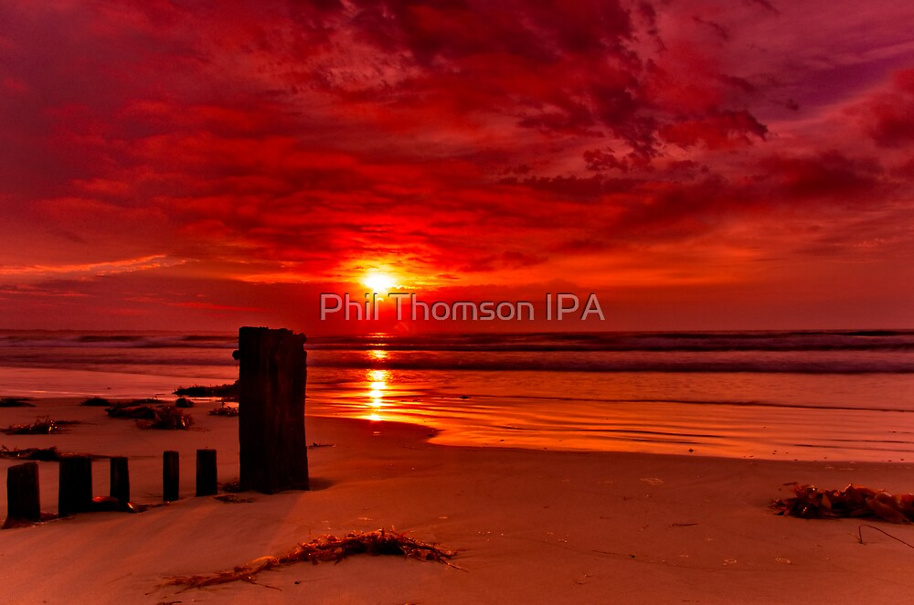 """""""Rising Over Raffs"""" by Phil Thomson IPA"""