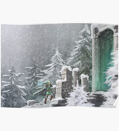 Snow Temple Poster