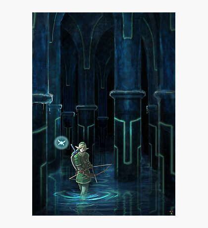 Water Temple  Photographic Print