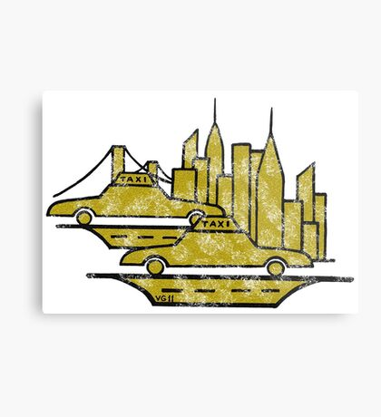 New York City drawing Metal Print