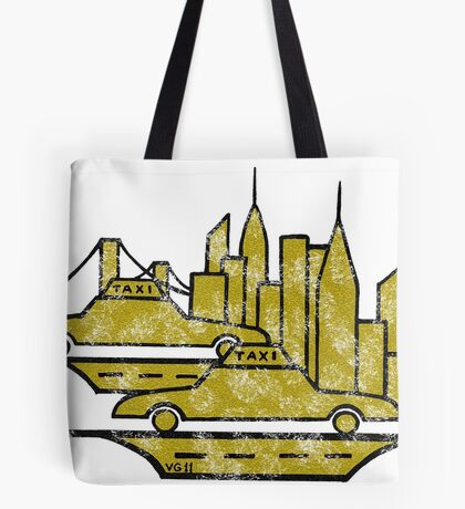 New York City drawing Tote Bag