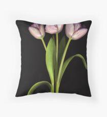 Purple Fringe Throw Pillow