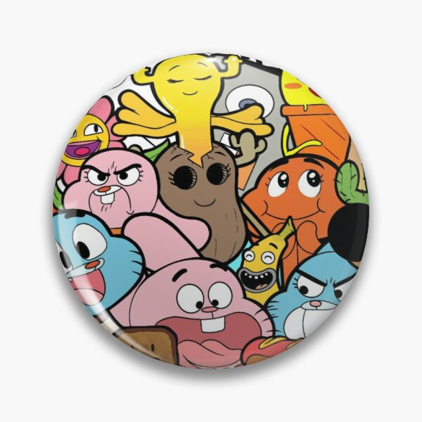The amazing world of Gumball doodle Pin