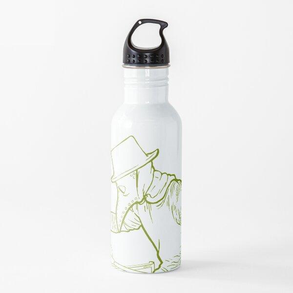 Plague Gaffer - Yellow/Green Water Bottle