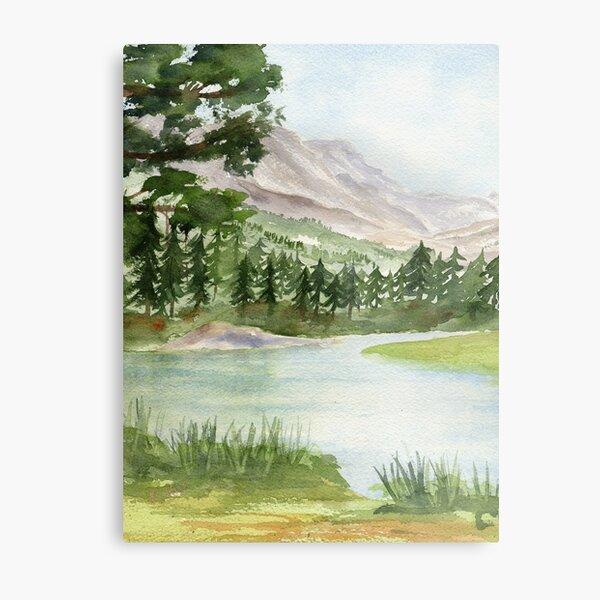 My Eden - Evolution Valley, High Sierra Metal Print