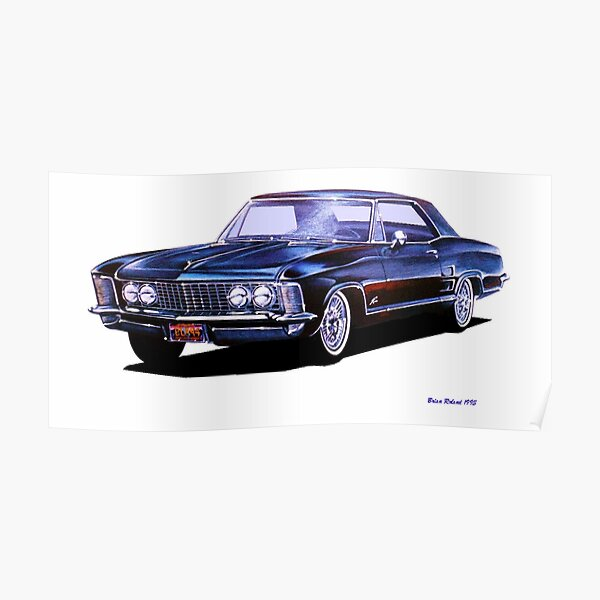 1963 Buick Riviera Poster