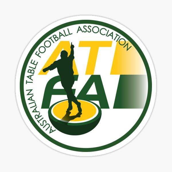 Australian Table Football Association Logo Sticker