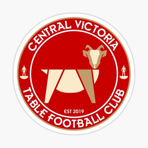 Central Victoria Table Football Club Logo Sticker