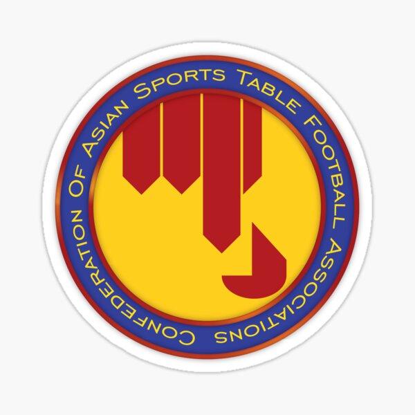 Confederation of Asian Sports Table Football Associations Logo Sticker