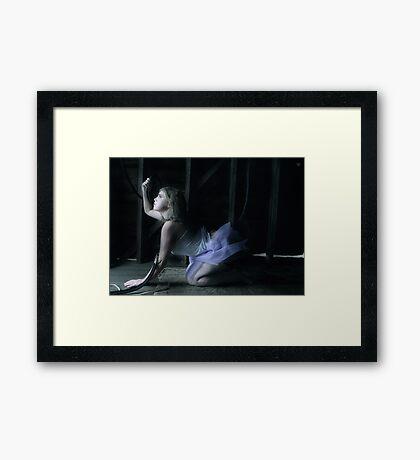 A self-defeating Dream Framed Print