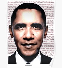 OBAMA is inspiration Poster