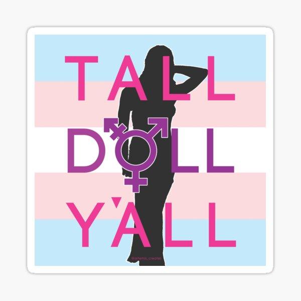 Tall Doll Y'all Sticker