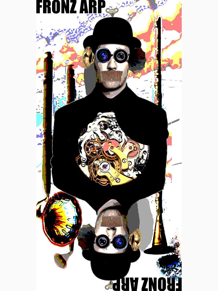 Fronz Arp - Robot Bowler Hat Guy by fronzarp