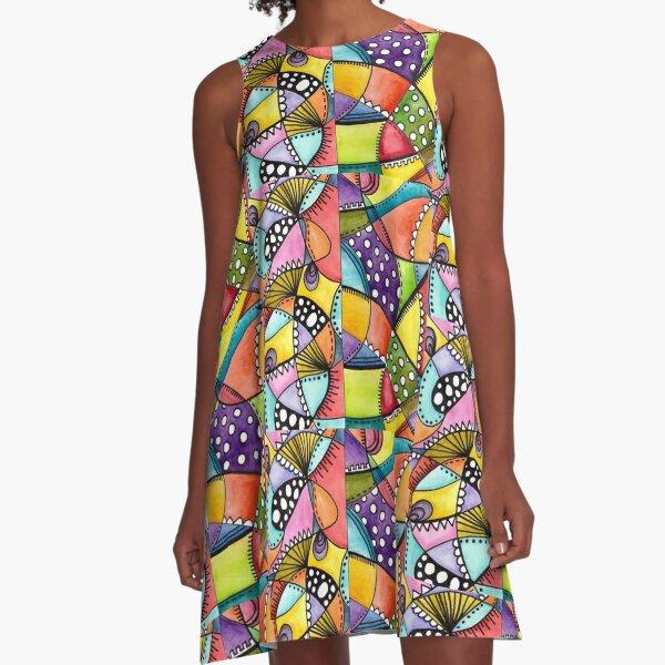 Choose happy A-Line Dress