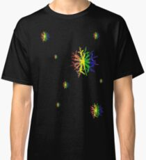 LGBT Snow Flakes Classic T-Shirt