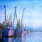 Dockside on the Darien ll by Christine Annas