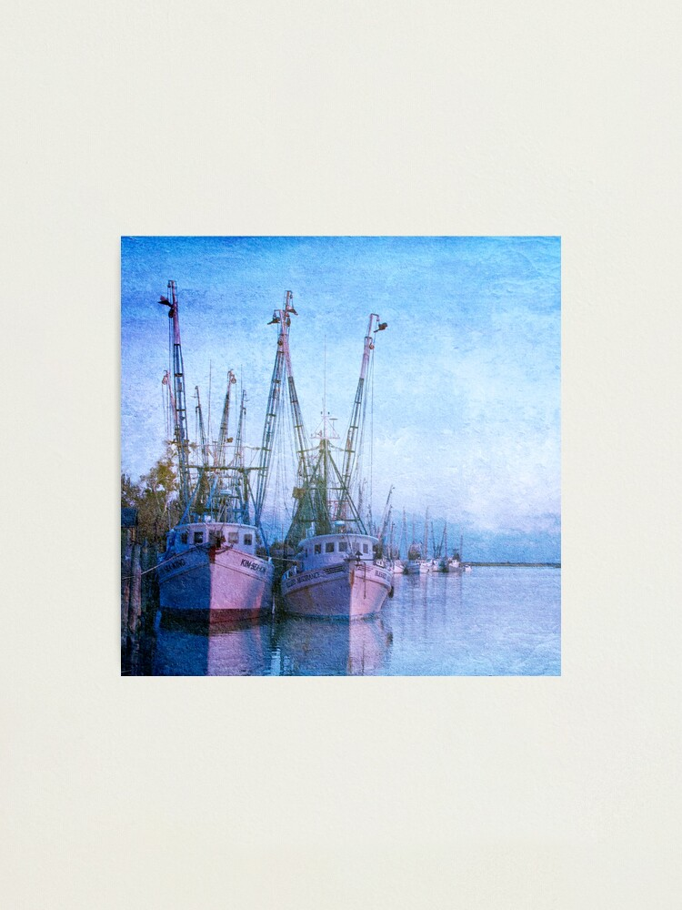 Alternate view of Dockside on the Darien ll Photographic Print