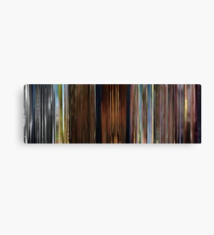Moviebarcode: Sequence from Up (2009) Canvas Print