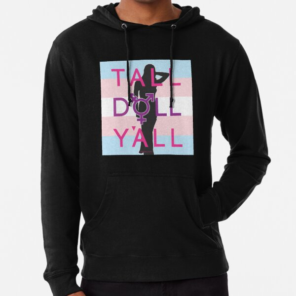 Tall Doll Y'all Lightweight Hoodie