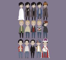 johns and sherlocks and moriarties