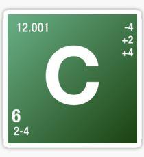 Element Carbon Sticker