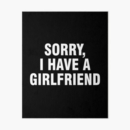 Freundin entschuldigung EXCUSE ME,
