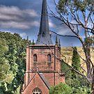 St Paul's Anglican Church, Carcoar, NSW by Adrian Paul