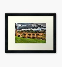Richmond Bridge - Tasmania - HDR Framed Print