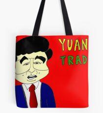 Bianry Options Cartoon Yuan Trade with China Tote Bag